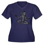Serene Robot Plus Size T-Shirt