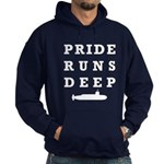 Pride Runs Deep with Submarine Hoodie (dark)
