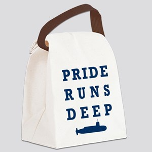 Pride Runs Deep with Submarine Canvas Lunch Bag