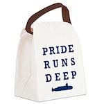 Pride Runs Deep with Submarine Canvas Lunch Bag
