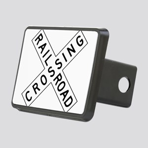 Rail Road Crossing Hitch Cover