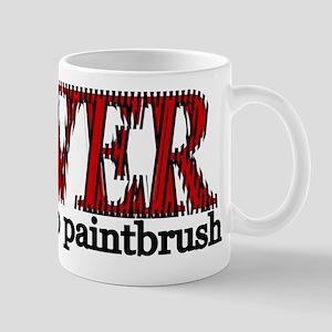Cheap Paintbrush Mugs