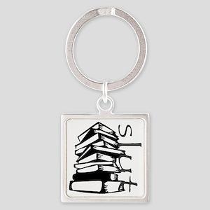 book slut Square Keychain