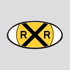 Rail Road Crossing Patches