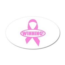 Winning Against Cancer Wall Decal