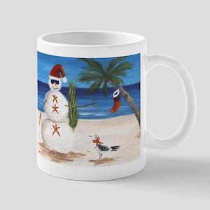 Christmas Beach Sandman Mugs