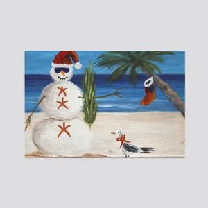 Christmas Beach Sandman Magnets