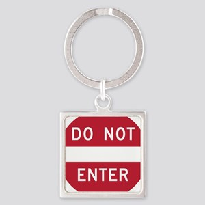 Do Not Enter Keychains