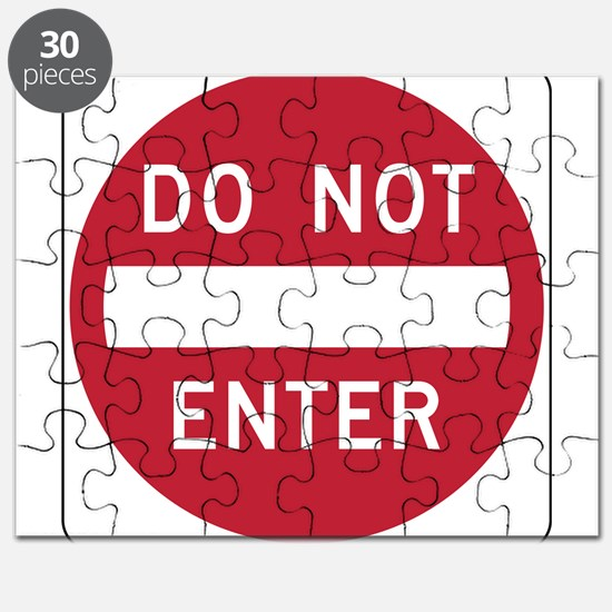 Do Not Enter Puzzle