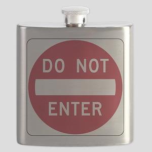 Do Not Enter Flask
