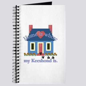 Keeshond Gifts Journal