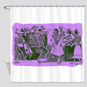 Antique Jose Posada Dance Of The Skeletons Print S