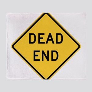 Dead End Throw Blanket