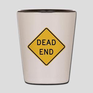 Dead End Shot Glass