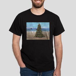 Christmas Beachy Tree T-Shirt