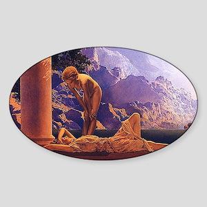 Maxfield Parrish Daybreak Sticker