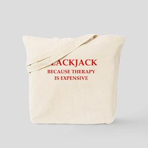 BLACKJACK Tote Bag