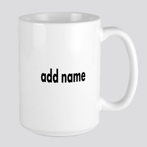 Add Text Font Modern Mugs