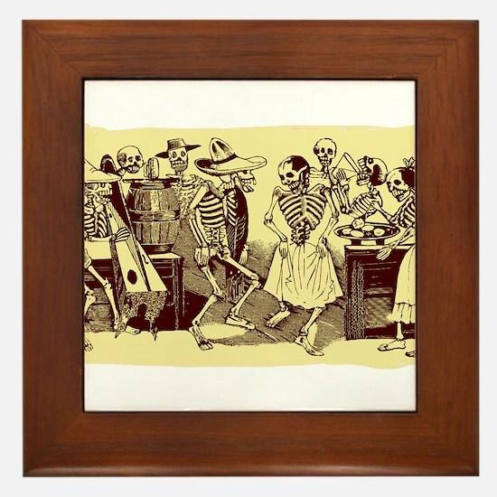 Antique Jose Posada Dance Of The Skeletons Print F