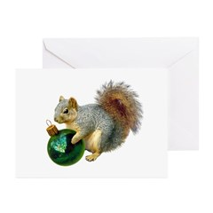 Squirrel Ornament Greeting Cards (Pk of 20)