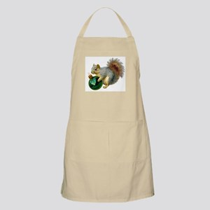 Squirrel Ornament Apron