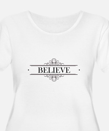 Believe Calligraphy T-Shirt