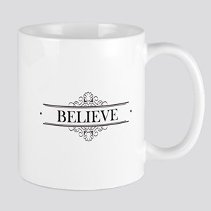 Believe Calligraphy Mug