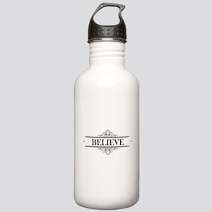 Believe Calligraphy Stainless Water Bottle 1.0L