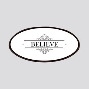 Believe Calligraphy Patches