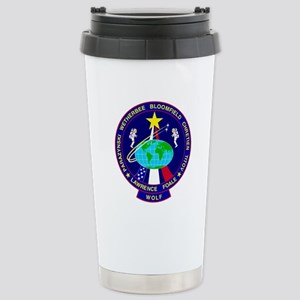 STS - 86 Discovery Stainless Steel Travel Mug