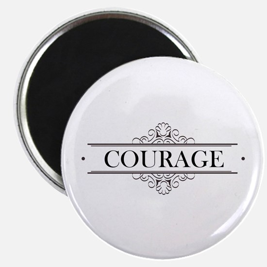 Courage Calligraphy Magnet