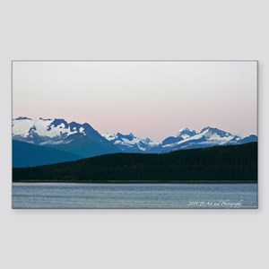 Skagway Sunset Sticker (Rectangle)