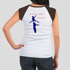 try a star lift Women's Cap Sleeve T-Shirt