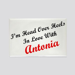 In Love with Antonia Rectangle Magnet