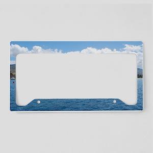 Lahaina Harbor License Plate Holder