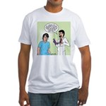 Dr. Banner Prostate Exam Fitted T-Shirt