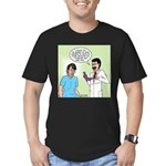 Dr. Banner Prostate Exam Men's Fitted T-Shirt (dar