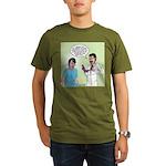 Dr. Banner Prostate Exam Organic Men's T-Shirt (da