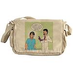 Dr. Banner Prostate Exam Messenger Bag