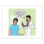 Dr. Banner Prostate Exam Small Poster