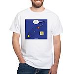Pluto Loses Planet Status White T-Shirt