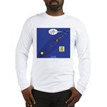 Pluto Loses Planet Status Long Sleeve T-Shirt