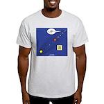 Pluto Loses Planet Status Light T-Shirt
