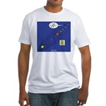 Pluto Loses Planet Status Fitted T-Shirt