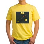 Pluto Loses Planet Status Yellow T-Shirt