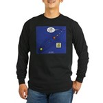 Pluto Loses Planet Status Long Sleeve Dark T-Shirt
