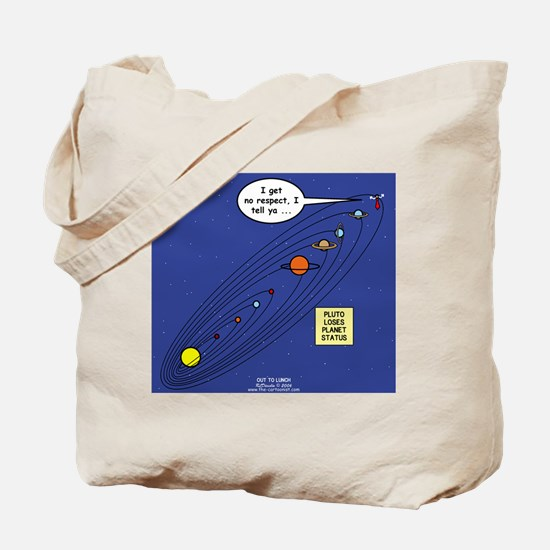 Pluto Loses Planet Status Tote Bag