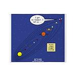 Pluto Loses Planet Status Throw Blanket
