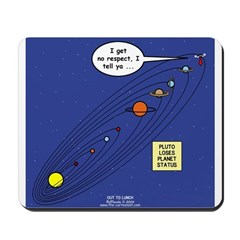 Pluto Loses Planet Status Mousepad