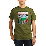 9-11 Super Heros Organic Men's T-Shirt (dark)